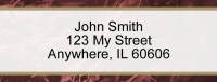 Burgundy Marble Rectangle Address Label Accessories