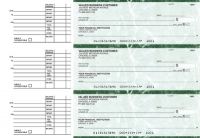 Green Marble Accounts Payable Business Checks