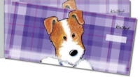 Jack Russell Terrier Side Tear Personal Checks