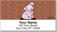 Pig Address Labels Accessories