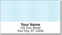 Classic Blue Address Labels Accessories