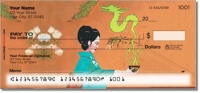 Asian Art Personal Checks