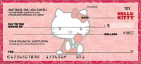 Hello Kitty Classics Cartoon Personal Checks - 1 Box