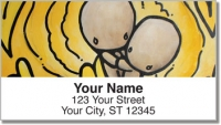 Babybol Love Over Distance Address Labels Accessories