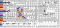 Cancer - Cure Them All Personal Checks