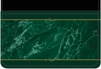 Green Marble Debit Wallet
