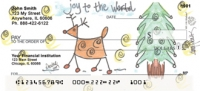 Joy to the World by Amy S. Petrik Personal Checks