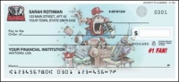 Alabama #1 Fan Personal Checks - 1 box