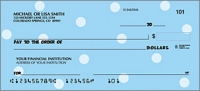 Polka-Dots Pattern Personal Checks - 1 Box