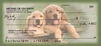 Playful Pups Animal Personal Checks - 1 Box
