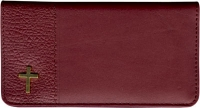 Blessings Leather Side Tear Style Checkbook Cover Accessories