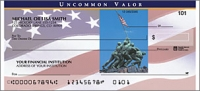 Stars & Stripes Patriotic Personal Checks - 1 Box