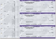 Platinum General Purpose 3-on-a-Page Checks - 1 Box