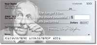 Frank Lloyd Wright Personal Checks