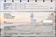 Lighthouses Scenic Views Top Stub Personal Checks