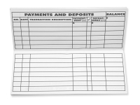 premium checkbook registers refills order now