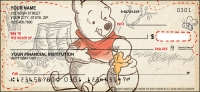 Disney Pooh & Friends Personal Checks - 1 Box - Duplicates