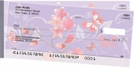 Cherry Blossoms Side Tear Personal Checks