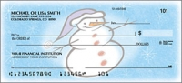 Snow Days Holiday Personal Checks - 1 Box