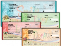 Simple Expressions Personal Checks - 1 box - Duplicates