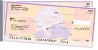 A Mother's Love Side Tear Personal Checks