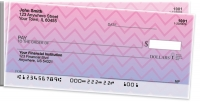 Sunset Chevron Side Tear Personal Checks