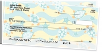 Colorful Sea Turtles Side Tear Personal Checks