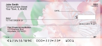 Spring Time Butterflies Personal Checks