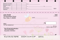 Bee Sweet Honey Top Stub Personal Checks