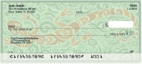 Swirl Art Personal Checks