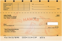 Sail to Paradise Top Stub Personal Checks