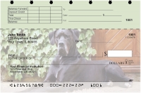 Great Danes Top Stub Personal Checks