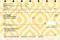 Textile Patterns Top Stub Personal Checks