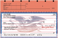 Home of the Brave Top Stub Personal Checks
