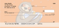 Stewie the Sloth Personal Checks