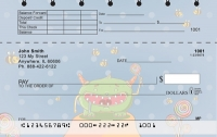 Monsters Top Stub Personal Checks