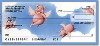 When Pigs Fly Animal Personal Checks - 1 Box