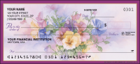 Pansies Garden Personal Checks - 1 Box