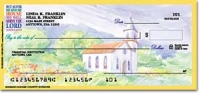 Country Churches Checks Personal Checks - 1 Box