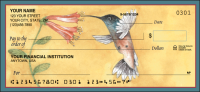 Hummingbirds Animal Personal Checks - 1 Box