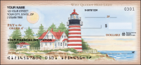 Lighthouses Scenic Personal Checks - 1 Box