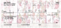Shabby Chic Flowers Personal Checks