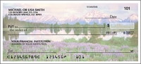 Nature's Majesty Side Tear Personal Checks - 1 Box