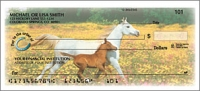 Horse Play Side Tear Personal Checks - 1 Box