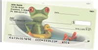 Funky Frogs Side Tear Personal Checks