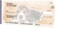 Beagle Pups Keith Kimberlin Side Tear Personal Checks