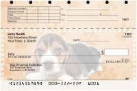 Beagle Pups Keith Kimberlin Top Stub Personal Checks