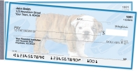 Bulldog Pups Keith Kimberlin Side Tear Personal Checks