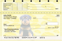 Rottweiler Pups Keith Kimberlin Top Stub Personal Checks