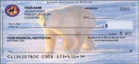 Defenders Polar Bears Personal Checks - 1 box